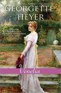 Venetia by Georgette Heyer, 1958.