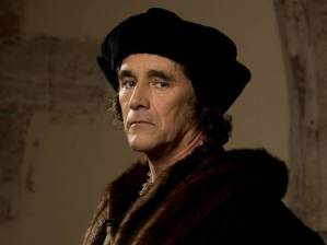 Mark Rylance portrays Thomas Cromwell in the BBC adaptation of Wolf Hall. Photograph: BBC