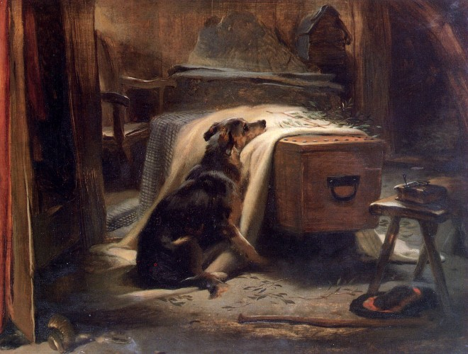 Landseer Old Shepherd's Chief Mourner