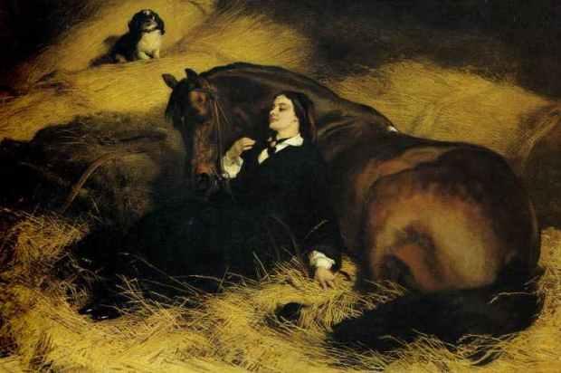 The Shrew Tamed by Landseer