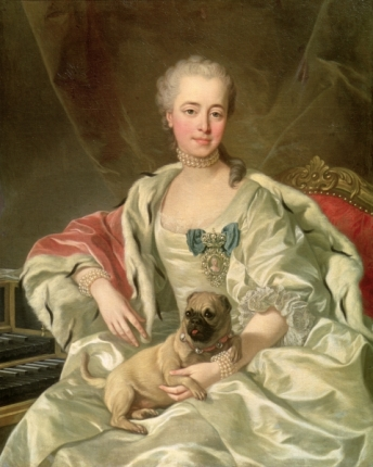 Princess Ekaterina Dmitrievna Golitsyna, 1759.