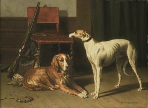19th Century Hunting Companions