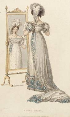 Regency Era Fashion Plate
