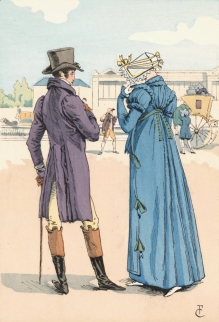 Regency Gentleman and Lady