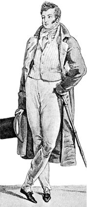 Regency Men's Costume 1813