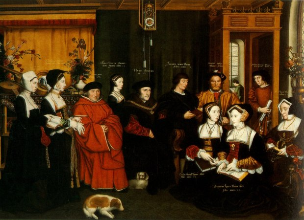 The Family of Sir Thomas More, portrait by Rowland Lackey after Hans Holbein the Younger, 1594