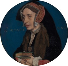 Meg Roper (Thomas More's daughter), miniature by Hans Holbein the Younger, 1535-1536