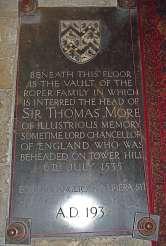 Sir Thomas More Vault