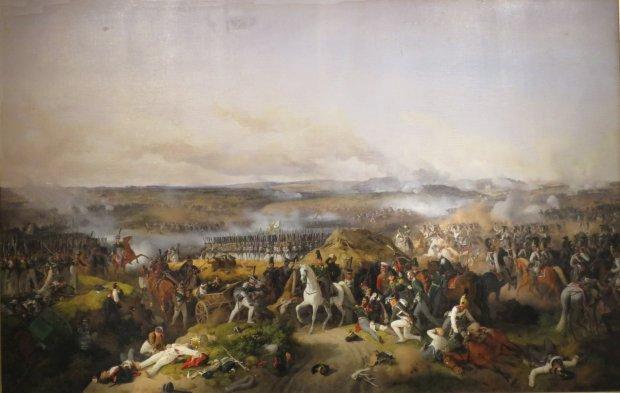 Battle of Borodino by Peter von Hess 1843
