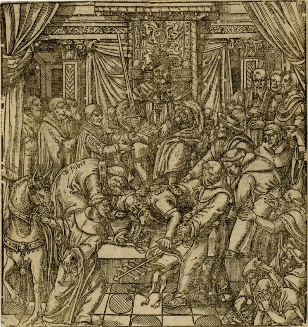 Foxe's Book of Martyrs 1570