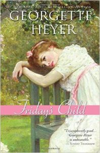 Friday's Child by Georgette Heyer, 1944.