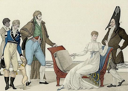 Le Bon Genre, Plate No. 13.