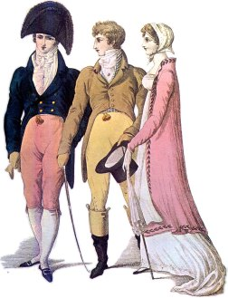 Regency era Fashion, 1809.
