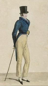 Regency Gentleman Print 1818