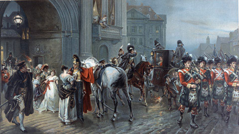 Summoned to Waterloo by Hillingford 1897