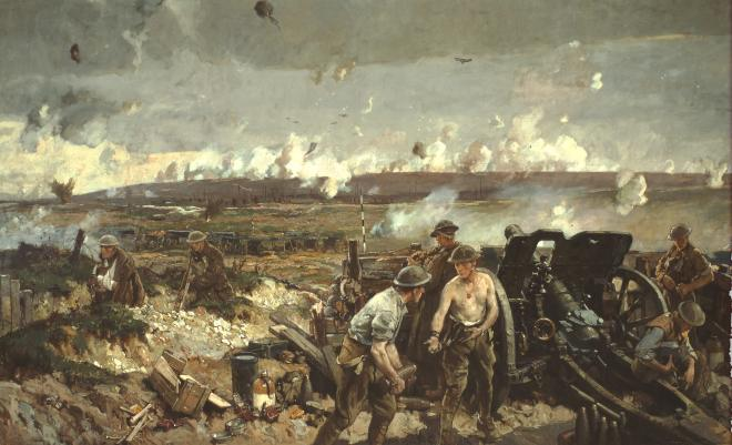 The Battle of Vimy Ridge 1918