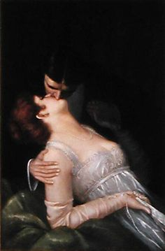 The Kiss by G. Baldry.