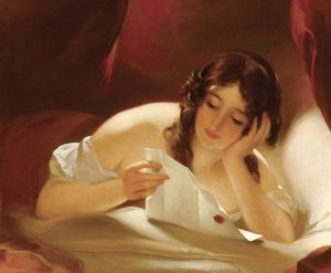 The Love Letter by Thomas Sully