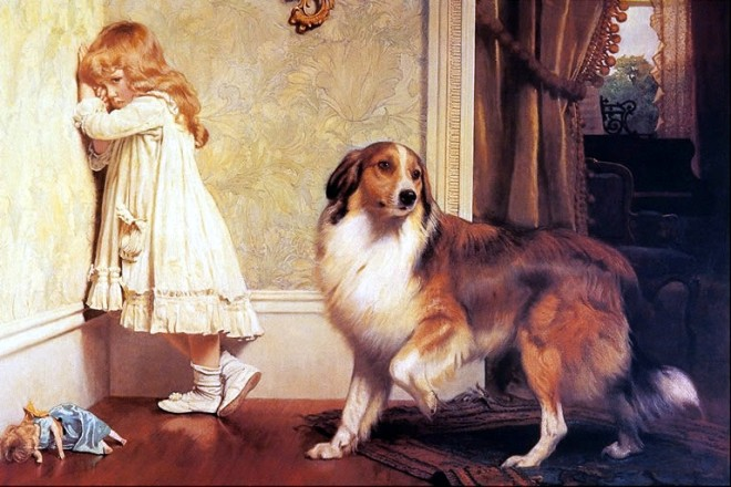 A Special Pleader by Charles Burton Barber, 1893.