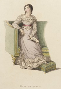 Ackermann's Morning Dress, 1822.