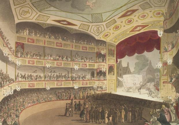 Ackermann's Print: The Royal Circus, 1809.