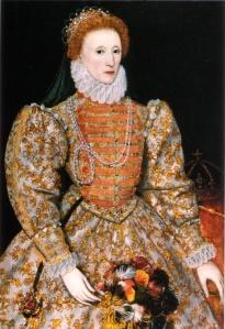 Elizabeth I, Darnley Portrait, 1575.