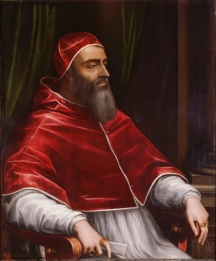 Pope Clement VII by Sebastiano del Piombo, 1531.