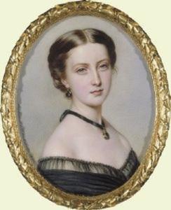 Princess Helena by Anton Hähnisch, 1861. (Royal Trust Collection.)