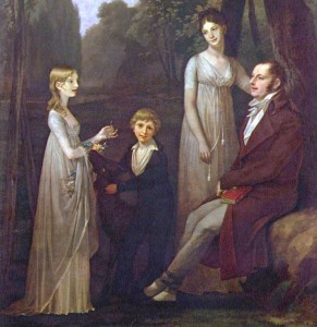 Rutger Jan Schimmelpenninck with his Wife and Children by Pierre Paul Prud'hon, 1801-02.