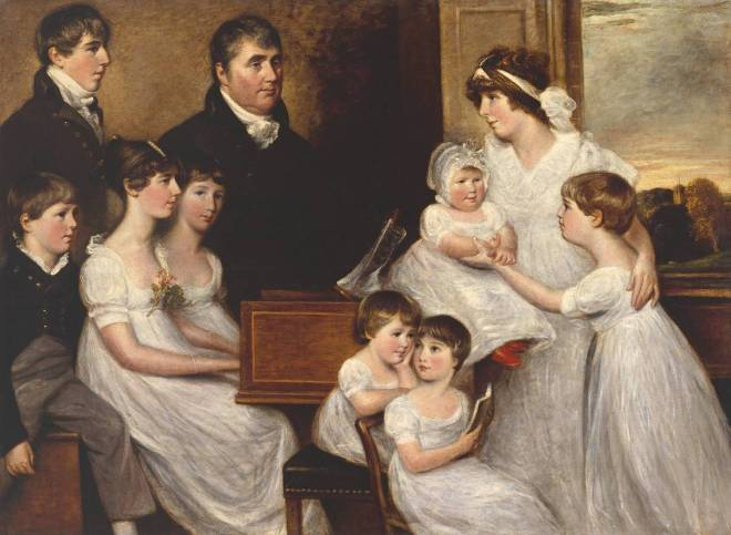 The Bridges Family by John Constable, 1805. (© Tate Museum, London, 2015)