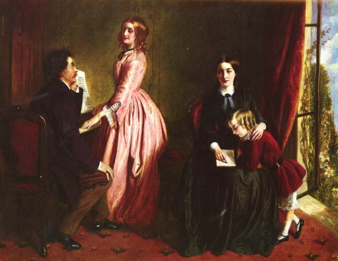 The Governess by Rebecca Solomon, 1851.