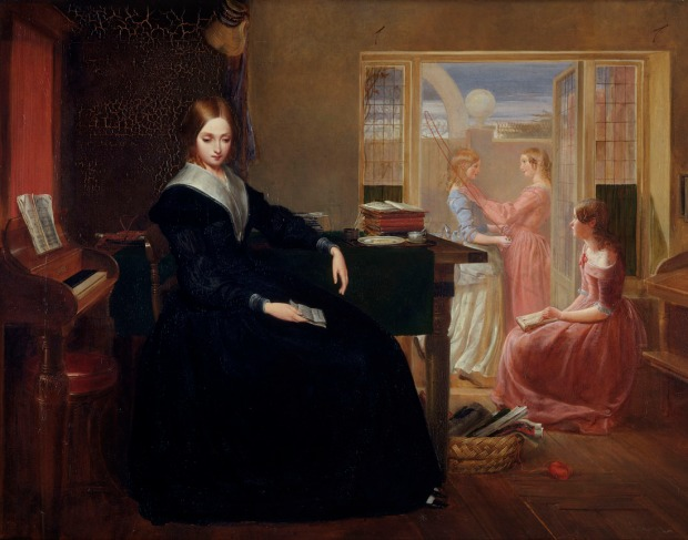 The Governess by Richard Redgrave, 1844.