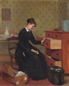 The New Governess by Thomas Ballard, (1836-1908).