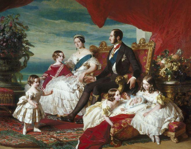 Victoria's Family by Franz Xaver Winterhalter, 1846.