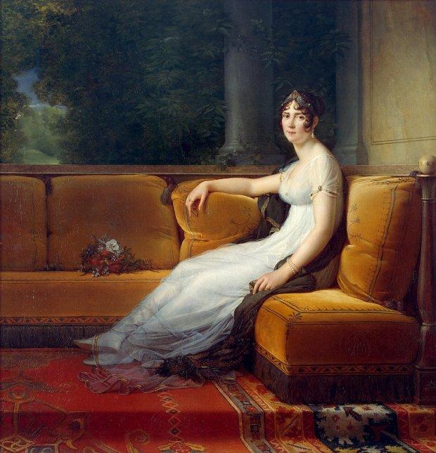 Josephine de Beauharnais by François Gérard, 1800.