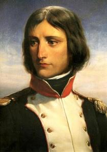 Napoleon Bonaparte age 23 by Henri Félix Emmanuel Philippoteaux, (1815-1884).