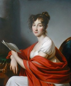 Portrait of an Unknown Woman by Alexander Molinari, 1800.