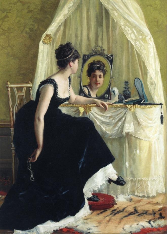 Vanity by Gustave Léonard de Jonghe.