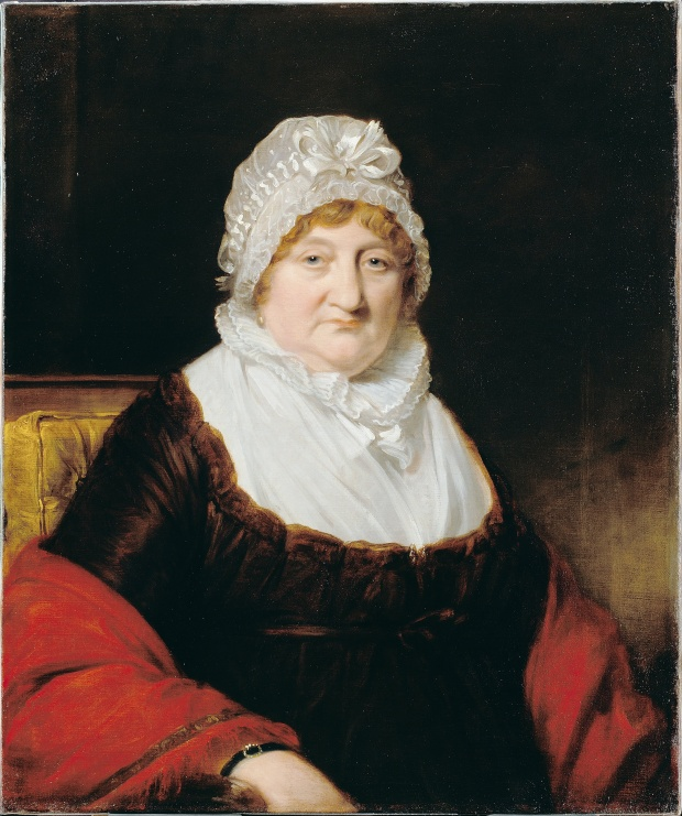Mrs. Thomas Linley by James Lonsdale, 1820.