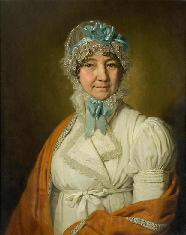Portrait of Nadezhda Dubovitskaya by Vladimir Borovikovsky, 1809.