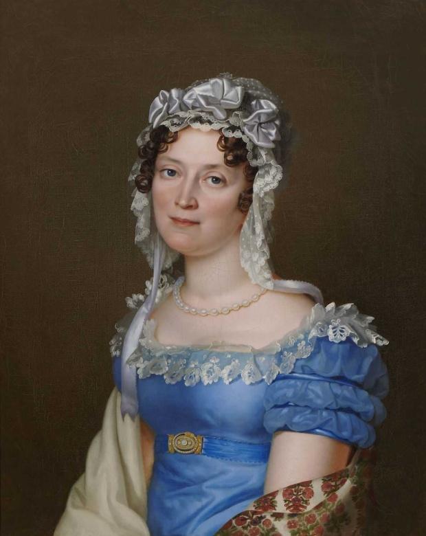 Princess Catherine of Wurttemberg by Franz Seraph Stirnbrand, 1820s.