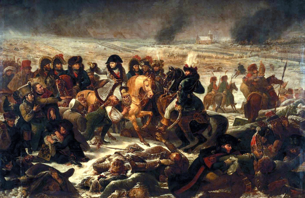 Napoléon à la bataille d'Eylau by Antoine-Jean Gros, 1808.