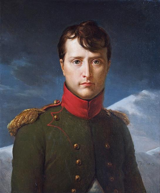 Napoléon premier consul by François Gérard, 1803.