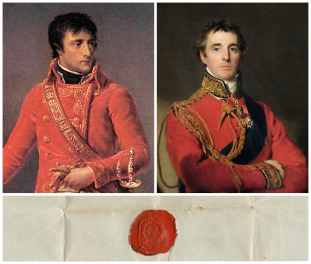Napoleon and Wellington Love Letter