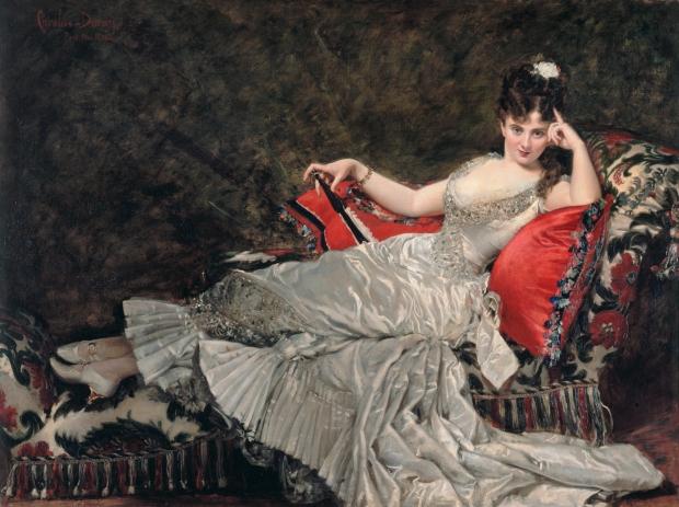 Portrait of Mademoiselle de Lancey by Carolus-Duran, 1876.