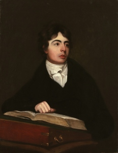 Robert Southey by John James Masquerier, 1799.