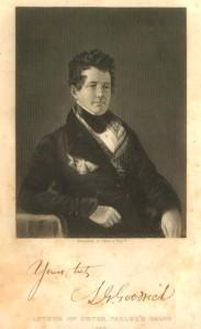 Samuel Griswold Goodrich, a.k.a Peter Parley, circa 1844.
