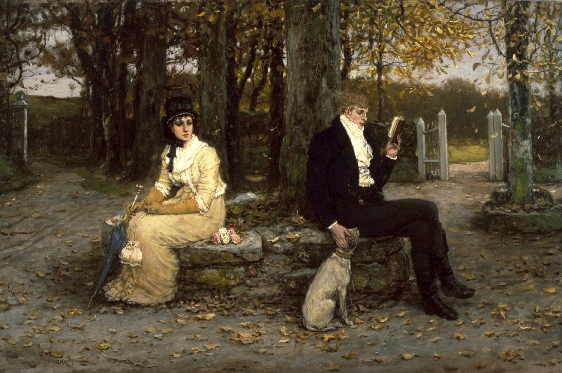 19th century marriage manuals advice for young husbands mimi the waning honeymoon by george henry boughton 1878