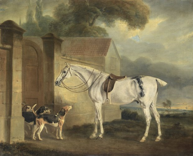 Brass, at Cottesmore with the Cottesmore Hounds by John Ferneley, 1818.