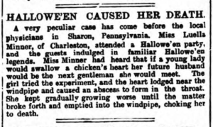 canterbury journal 1896 halloween caused her death